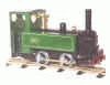 909005 MSS 'O' Gauge Green Steam Locomotive