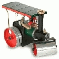 1402 Mamod Steam Roller Kit with Canopy
